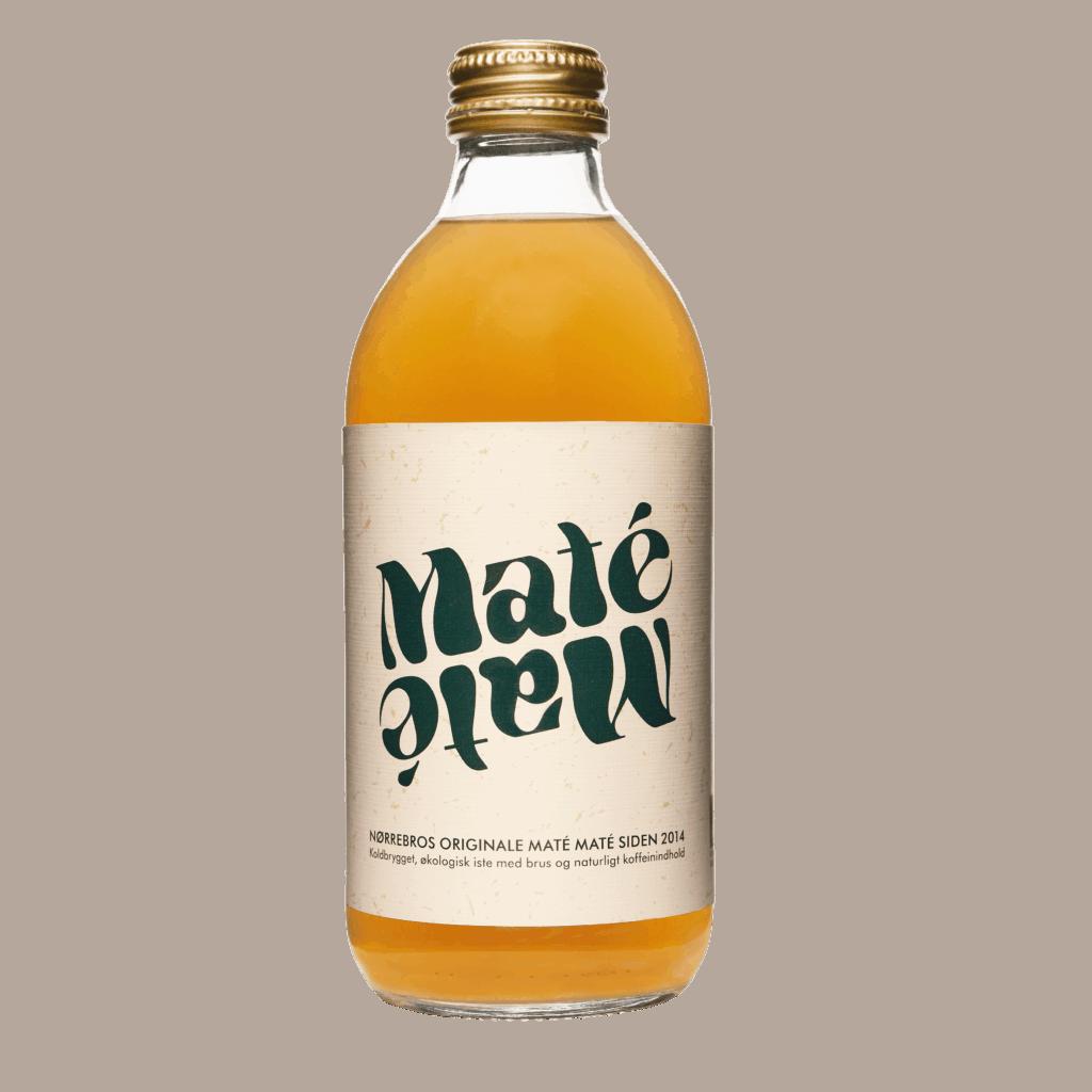 Maté Maté dansk 0,33 flaske front